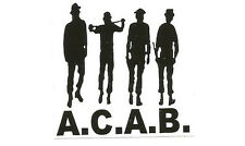 50 ACAB Autocollant/ACAB stickers ultras punk hooligans ultra oi football 1312