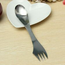 Steel Knife/Fork/Spoon Combo Camping Tableware Picnic Cutlery Outdoor Spork