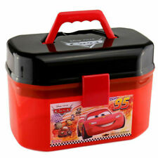 Disney Cars Lightning McQueen Suitcase Storage Box  (No Cars) Plastic In Stock