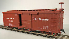 D&RGW 3000 SERIES BOXCAR On3 AMS RTR BOX STORED N/R