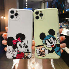 Phone Case Cartoon Disnry Mickey And Minnie TPU Cover For iPhone Huawei Series