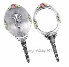 New Disney Beauty And The Beast Replica Metal Enchanted Hand Mirror