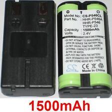 Batterie 1500mAh type HHR-P546 HHR-P546A PQWBTG1000N Pour Vtech 20-2420