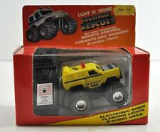 VINTAGE 1989 LIGHT N' SOUND HIGHWAY RESCUE REMOTE CONTROL SHERIFF TRUCK
