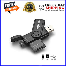 SD Card Reader Flash Drive 2TB USB 3.0 Memory Stick Fold Storage Thumb Stick Pen