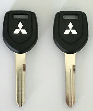 2 Mitsubishi MIT13 ( N  Chip TEX 4D 61 ) Transponder Key USA Seller