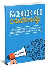 How To Use Facebook Ads- eBook, Videos and Bonuses on 1 CD