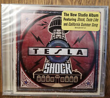 Tesla Shock CD Brand NEW 2019 Rock Metal Blues Classic Guitar Hannon Keith