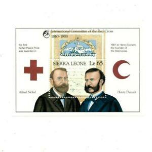 VINTAGE CLASSICS - Sierra Leone 1009 - Red Cross - Souvenir Sheet - MNH