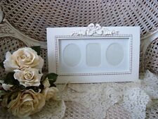 SHABBY FRENCH CHIC X- LARGE PRETTY ORNATE BOW PICTURE FRAME ***SO PRETTY***