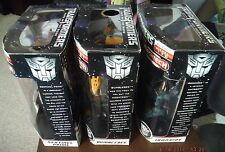 Transformers Dark of the Moon Leader Class, Bumblebee, IRONHIDE, SENTINEL SEALED
