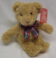 """GUND CUTE TAN POCKETS THE TEDDY BEAR 6"""" Plush STUFFED ANIMAL Toy NEW"""