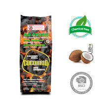 Cocobriq Coconut Shell BBQ Briquets 100% Natural Chemical Free Eco-Friendly 8lbs