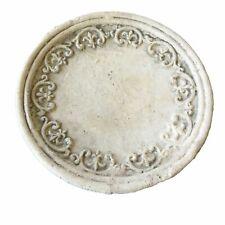 AKTION Rustikaler Dekoteller Fleur de Lys, mit Antik Ornamenten 16 cm