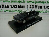 CR2H voiture 1/43 CARABINIERI : ALFA ROMEO ALFA 90 SUPER 1986