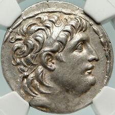 Antiochos Vii Sidetes Ancient Silver Greek Tetradrachm Seleukid Coin Ngc i84881