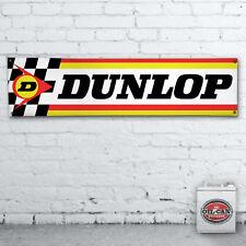 DUNLOP BANNER workshop / garage / showroom / mancave 1700x430mm