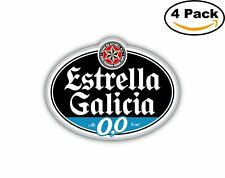 Estrella Galicia Beer Spain Decal Diecut Sticker 4 Stickers