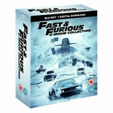 The Fast & Furious Collection (Blu-ray, 2017, 8-Disc Set)