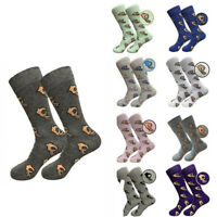 Socks Circle Dress Stocking Cotton Crew Casual Meme Crazy Funny Game