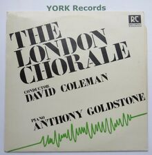LONDON CHORALE - Conducted By David Coleman  - Excellent Condition LP Record RC
