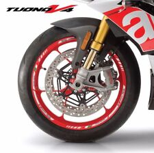 Aprilia Tuono V4 Factory wheel decals stickers rim stripes v4r Laminated grey