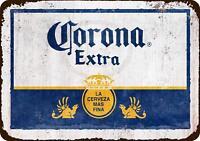 "Corona Extra beer label Vintage Retro Metal Sign 8"" x 12"""