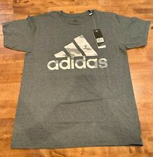 ADIDAS Mens The Go-To Tee/T-Shirt Short-Sleeve 251786 Size XL - Gray
