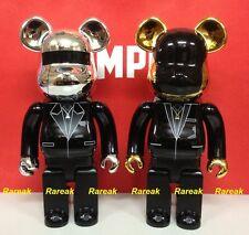 Medicom Be@rbrick 2014 Daft Punk 400% Random Access Memories Bearbrick set 2pcs