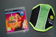 Zumba Fitness PS3 Playstation 3 con la correa ** GRATIS UK FRANQUEO **