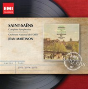 Saint-Saens: Complete Symphonies CD NEW