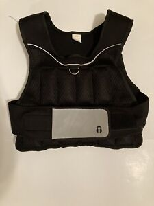 "Golds Gym 20 LB Adjustable Weighted Vest Work Out Vest ""used"""