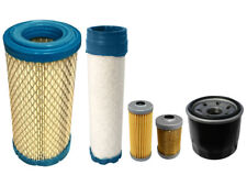 HITACHI ZX19 U-5 ZAXIS Filter Service Kit w/Yanmar Eng Air, Oil, Fuel Filters