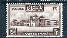 Pakistan 1948 2r chocolate brown p13.5 SG39a MH