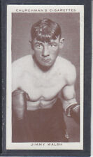 Churchman - Boxing Personalities 1938 - # 37 Jimmy Walsh