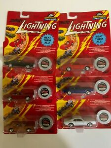 Johnny Lightning Commemorative Lot of 6 Different Custom Toronados-Limited Ed.