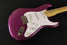 Fender Custom Shop 1954 Heavy Relic Stratocaster RARE Magenta SPARKLE ONE OFF