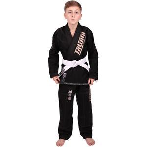 Tatami Fightwear Meerkatsu Kids Animal BJJ Gi - Black