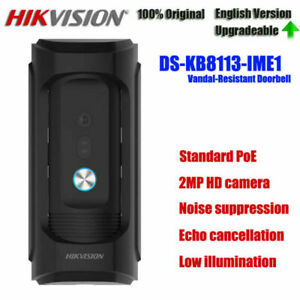 Hikvision DS-KB8113-IME1 POE 2MP Outdoor Station IP Vandal-Resistant Doorbell