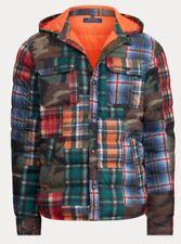 Polo Ralph Lauren Bear Patchwork Beacon Downhill Suicide Skier Camo Jacket / XXL