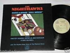 "THE NIGHTHAWKS jacks & kings ""full house"" LP Adelphi 79 ELECTRIC BLUES"