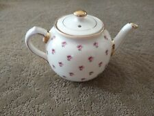 Vintage Sadler Teapot Gold Trimmed with  small Roses