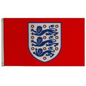 ENGLAND FA THREE LIONS DESIGN 5'X3' FLAG - OFFICIAL GIFT, FOOTBALL, EURO 2020