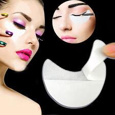 10X New White Under Eye Shadow Shields Patches Mascara Eyelash Pads Help Make Up