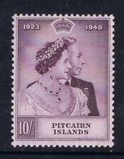 Pitcairn Islands 1948 Silver Wedding High Value SG 12 MNH