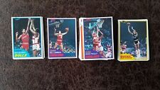 1981-82 TOPPS BASKETBALL MIDWEST COMPLETE SET #67-110 - Laimbeer RC! QTY AVAIL!
