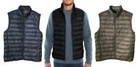 NEW Eddie Bauer Packable Microlight Mens Down Vest Variety of Color's and Size's