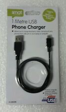 1 METER MICRO USB PHONE CHARGER
