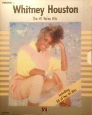 WHITNEY HOUSTON The # 1 Video HIts 1988 VHD NTSC