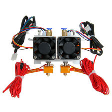 Geeetech MK8 Dual Extruder support 5 types material for Prusa I3 3D Printer